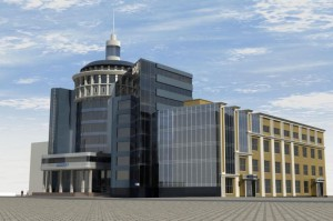 Новый Главпочтамт в Саранске