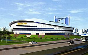 Стадион Юбилейный в Саранске